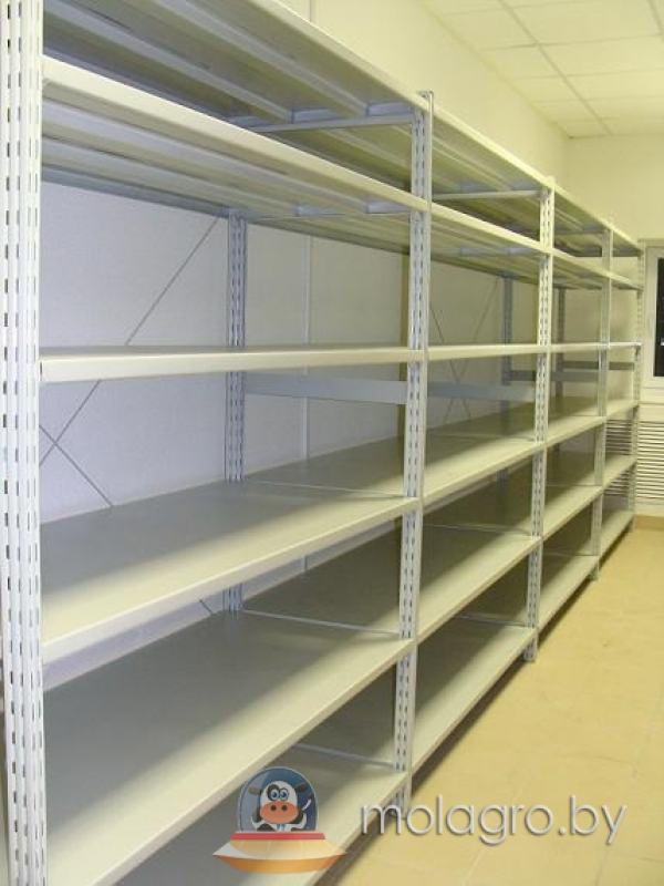 Стеллажи полочные - купить складские, металлические, универс.